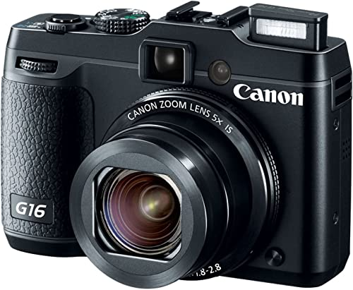 Canon PowerShot 12.1 MP G16 CMOS Camera with Optical Zoom review