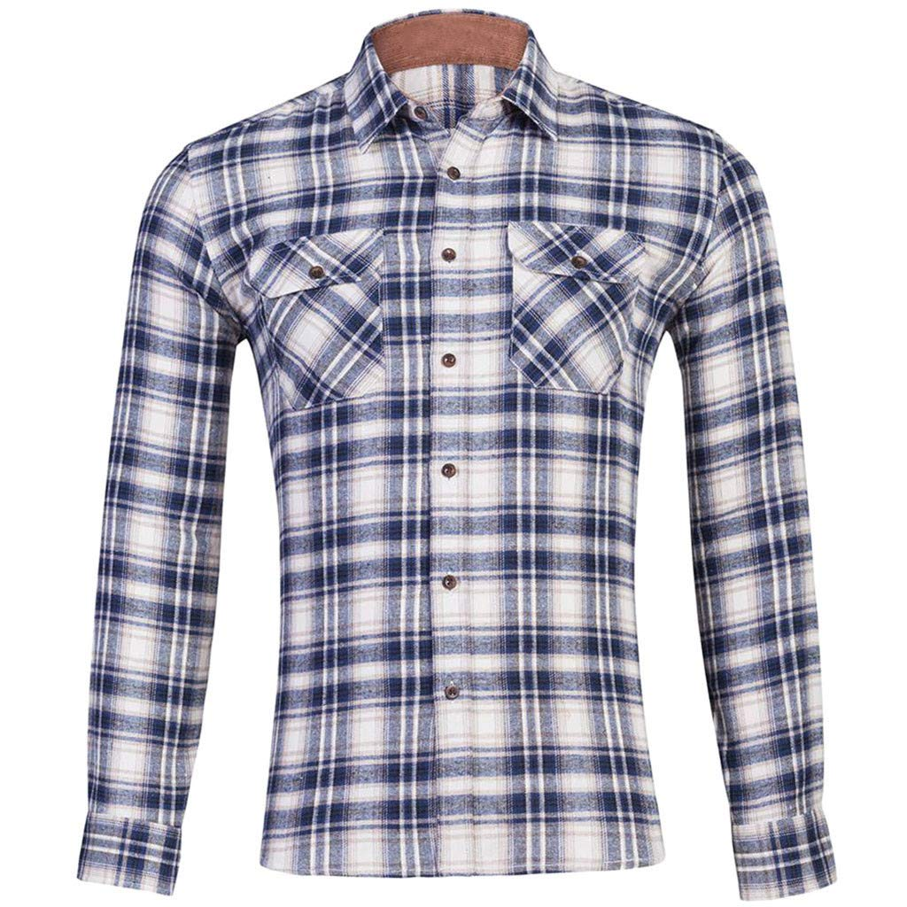Aiserkly 2019 - Camisa de Manga Larga para Hombre, diseño de ...