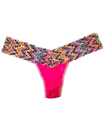 e3f3e9d2f393 Hanky Panky Women's Signature Lace Colorplay Original Rise Thong, One Size,  491KSU11