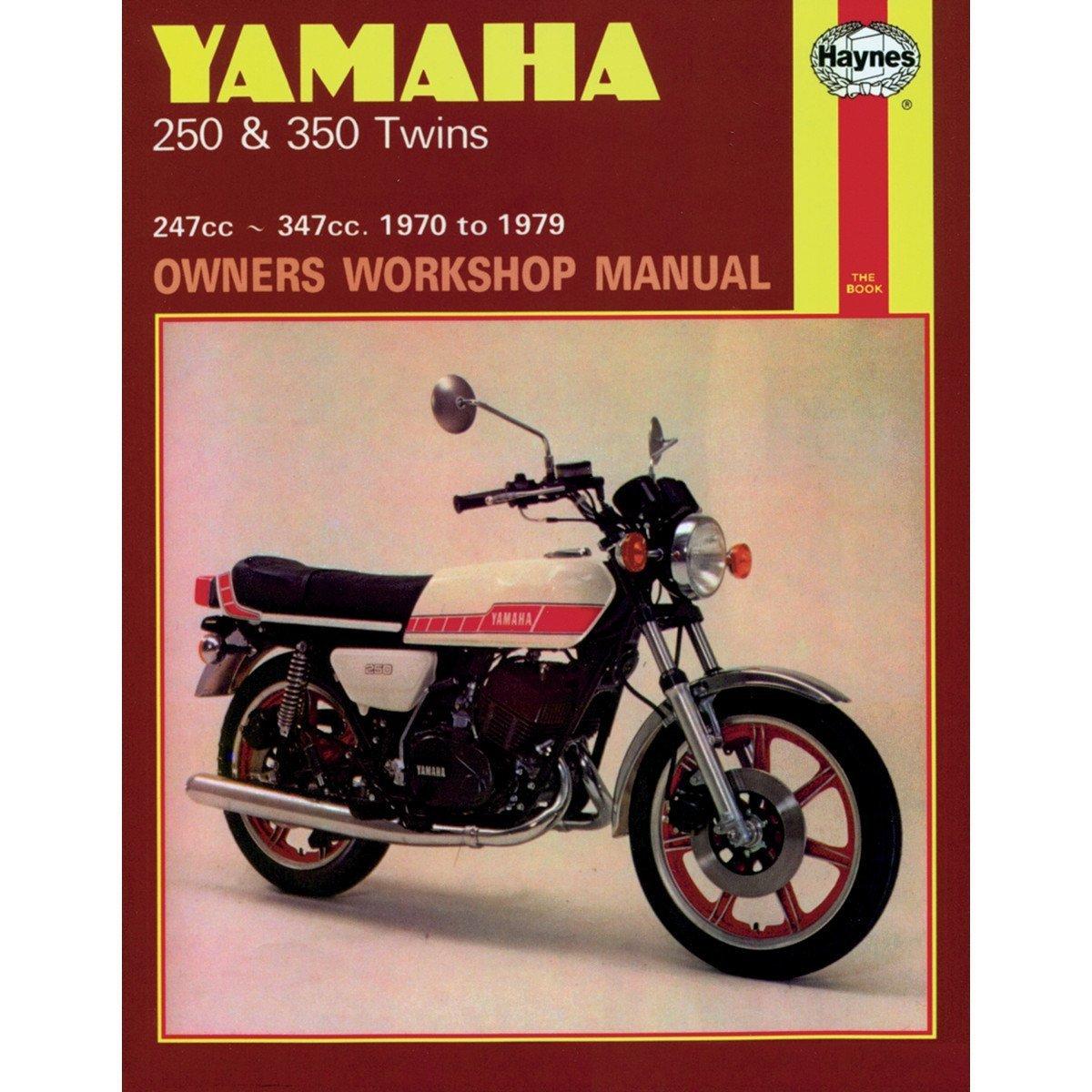Amazon.com: Haynes Repair/Service Manual 040 Fits 73-75 Yamaha RD250 (40):  Automotive