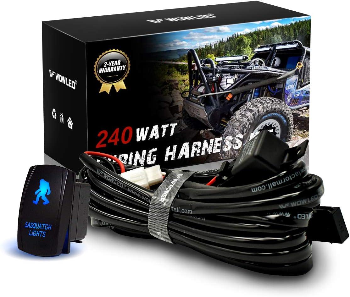 Heavy Duty Wiring Kit For Car  Suv  Truck Fog Lights Off