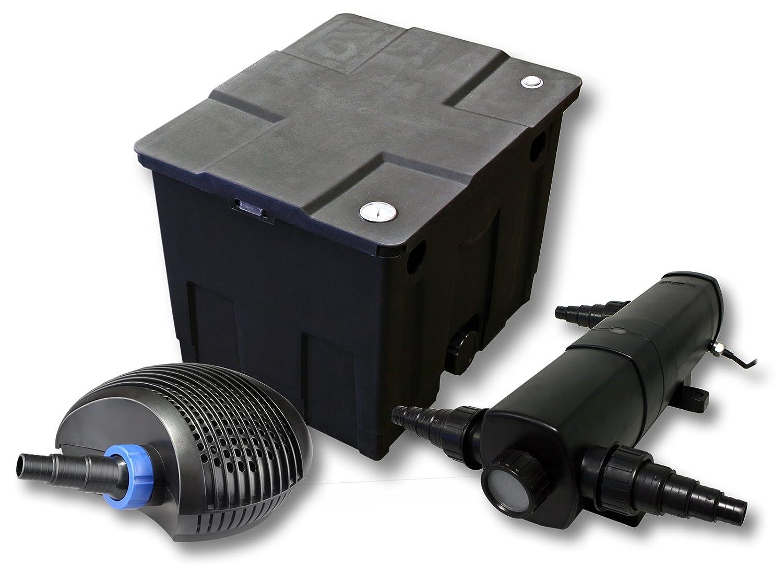 Filter Set für 12000l Teich mit 24W Teichklärer und CTF ECO Pumpe mit 20W