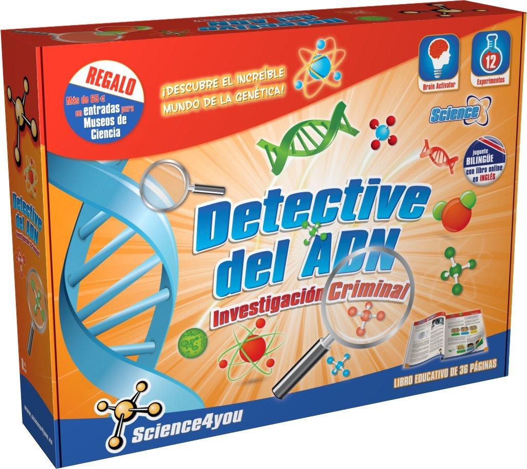 Science4you - Detective del ADN - juguete científico y educativo 398498 genetica genética jenetica