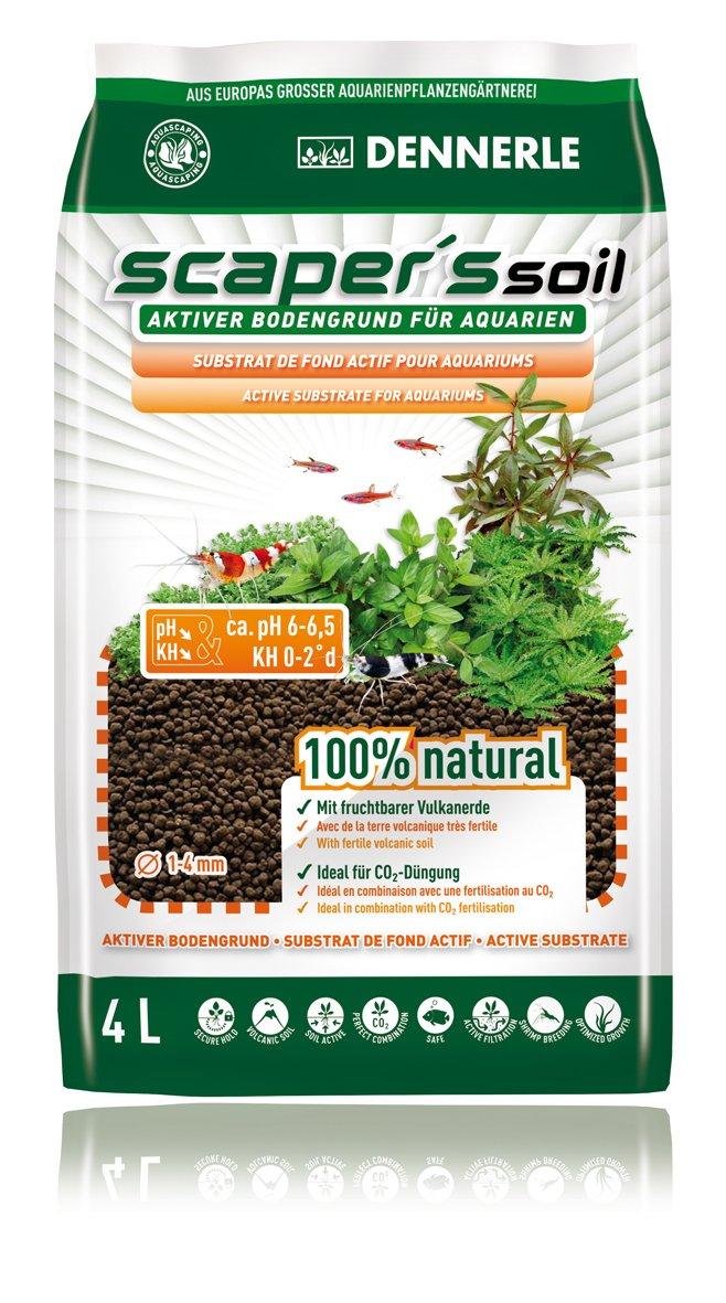 Dennerle Soil Black Color Type 1-4mm, 4 L - 3,67 kg 4580