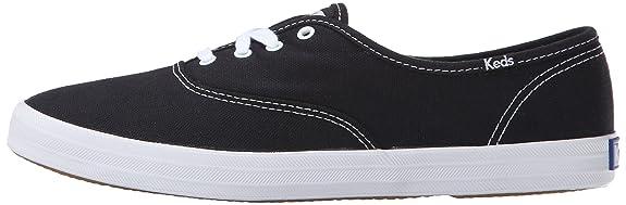 Champion Core Text, Womens Low-Top Sneakers, Black (black), 9.5 UK Keds