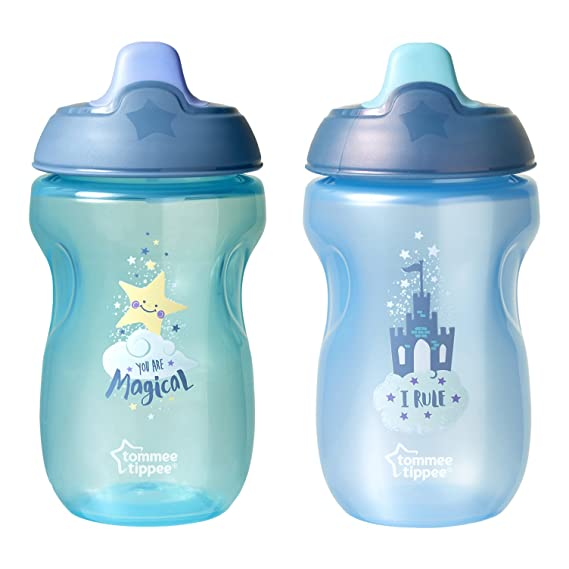 5 oz Girl 4+ months 2 Count Tommee Tippee First Sips Soft Infant Transition Cup
