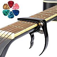 Cejilla Guitarra Uktunu Española Clásica Guitar Capo Electricas Acustica Folk Ukelele Bajo Instrumento Ligero Sola Mano…