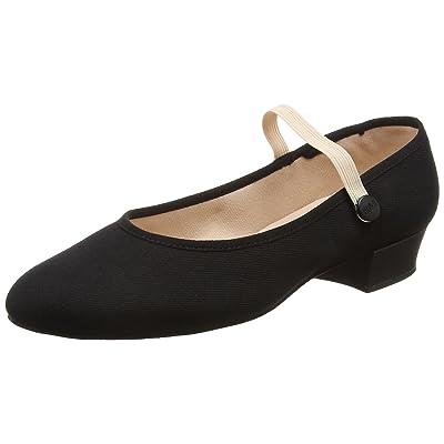 Bloch Accent, Chaussures de Danse de Salon Fille, Noir (Black), 36.5 EU