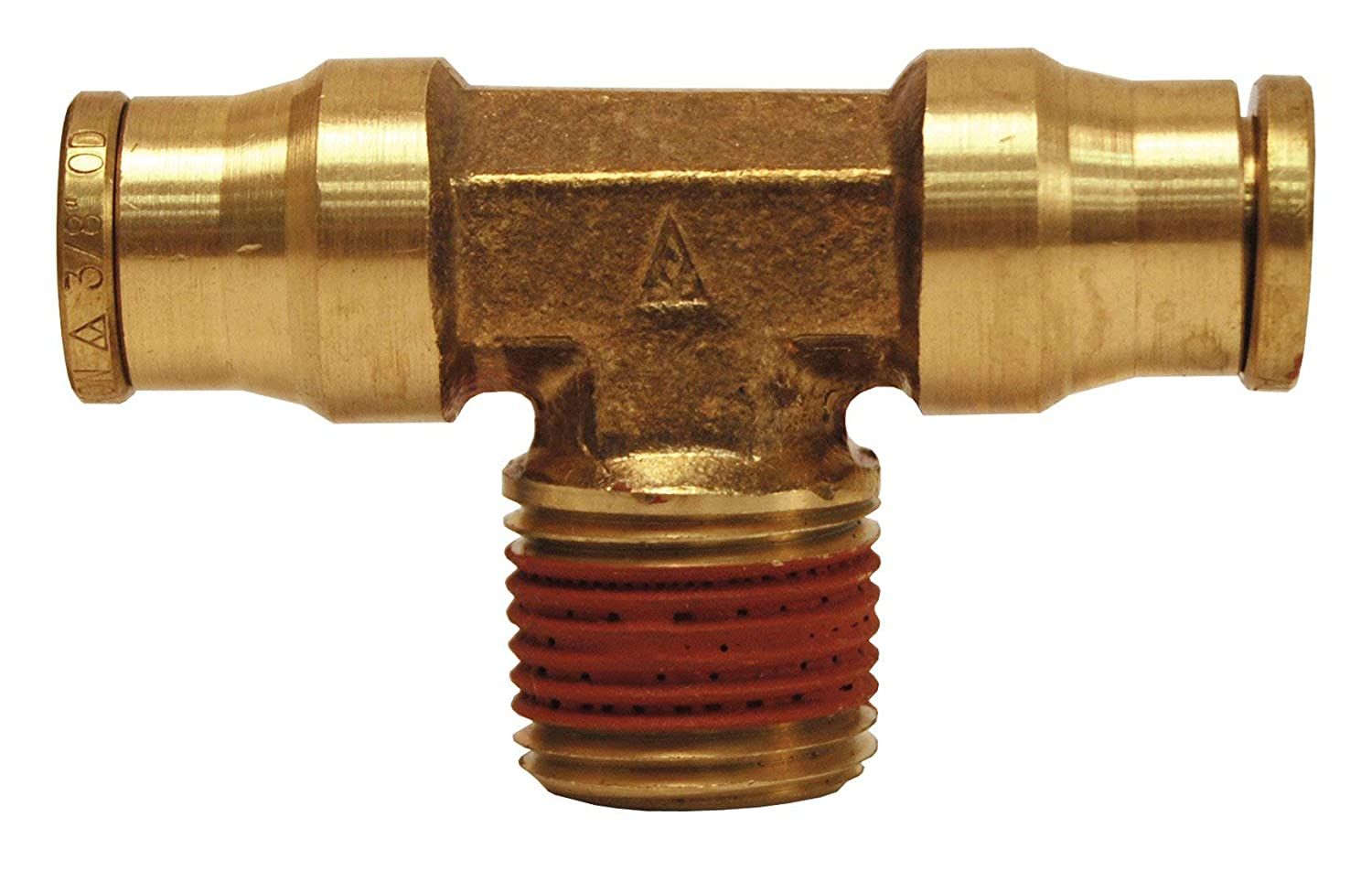 Dixon 7216X12 Brass Push-in Male Branch Tee 1//2 Tube x 3//8 M-NPTF No Gskt