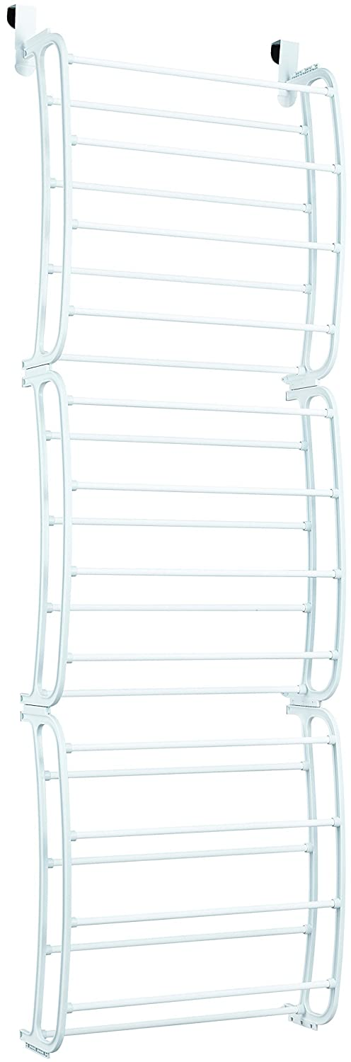 iuhome 36 Pair Over the Door Shoe Rack Organizer DK SL-SREC-18