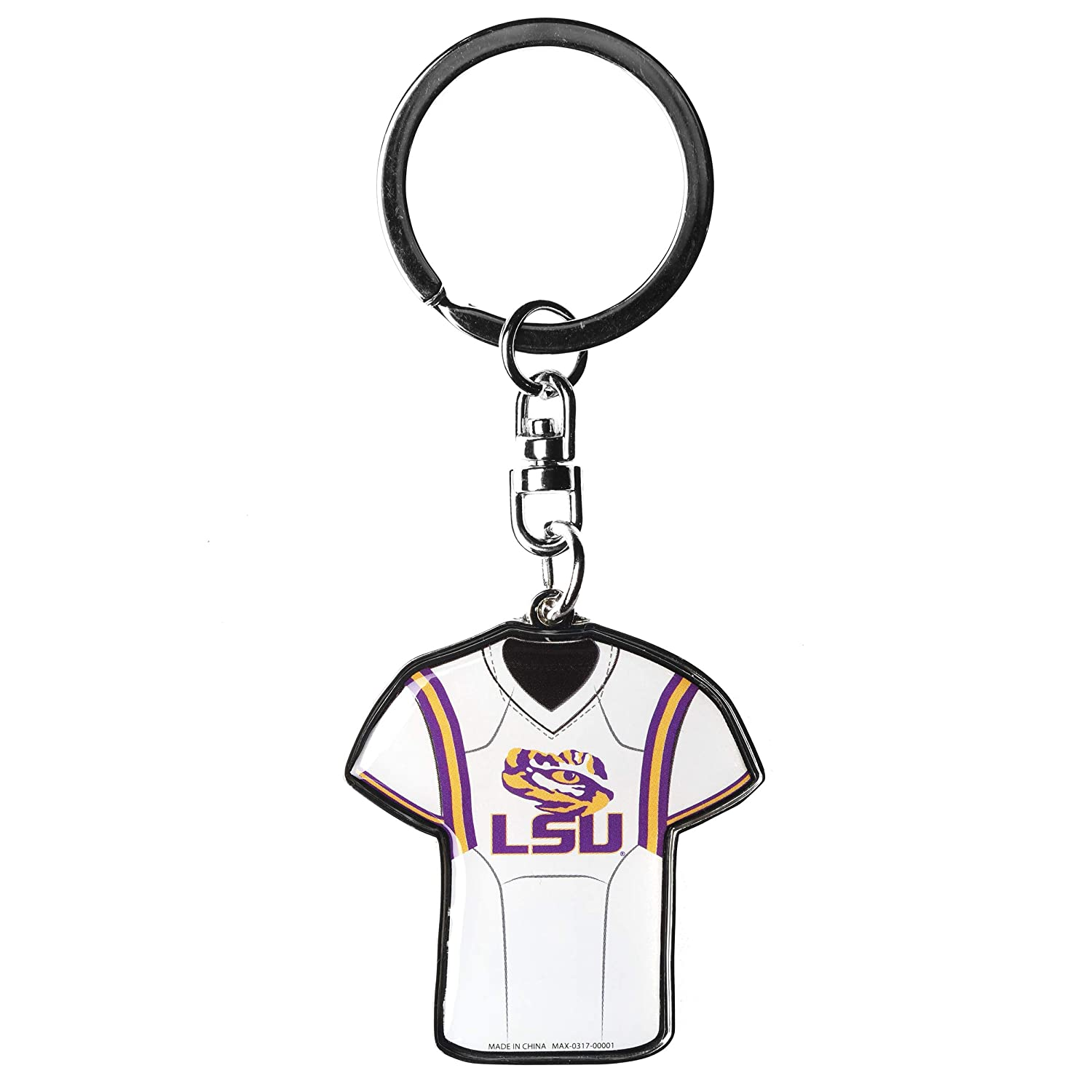 FOCO College Unisex Double Sided Jersey Keychain