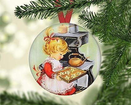 Amazon Com Hanjear59 Cute Kids Christmas Ornaments For Tree Old