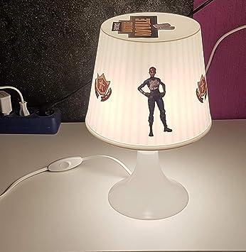 LL lámpara de mesa en fortnite Diseño (único) Ideal para de Juego y/o la habitación Diseño 1: Amazon.es: Bebé