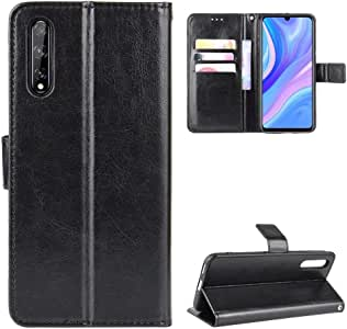 Luckyandery - Funda tipo cartera para Huawei Enjoy 10S
