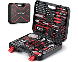 218-Piece Household Tool kit,Auto Repair Tool Set, EASTVOLT Tool kits for Homeowner, General Household Hand Tool Set with Ham