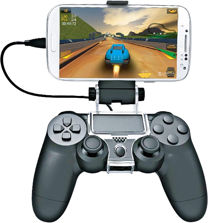 Soporte para Mando de Juego para Sony PS4 con Cable OTG.: Amazon.es: Electrónica