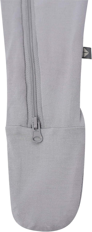 Kyte Baby Soft Organic Bamboo Rayon Footies 0-24 Months Zipper Closure