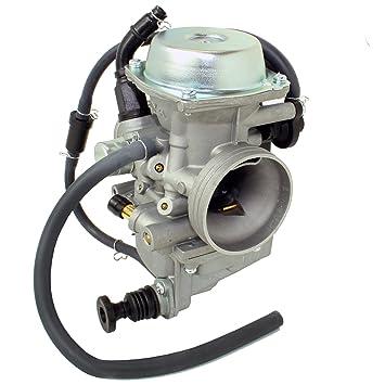 Amazon.com: Caltric Carburetor Fits Honda 400 TRX400FW FOURTRAX ...