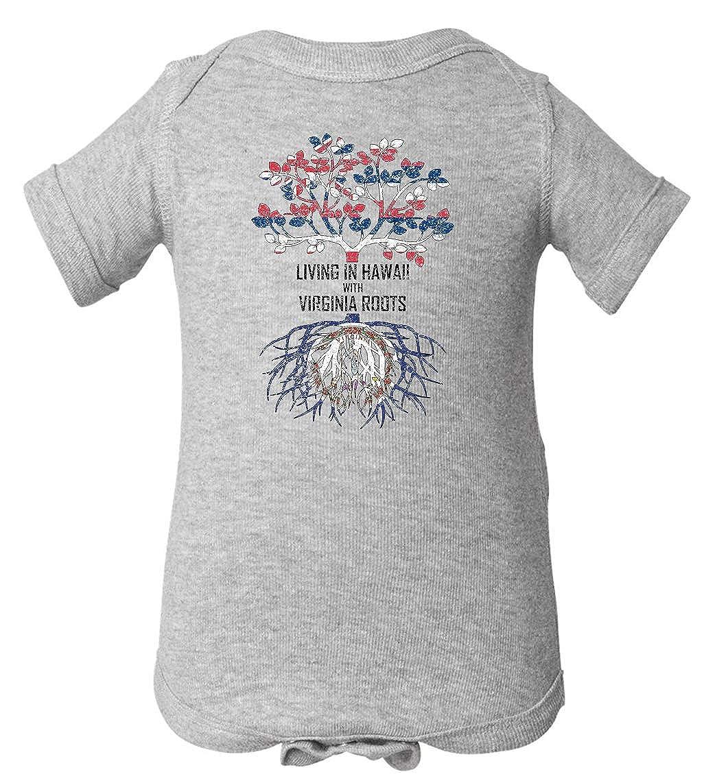 Tenacitee Babys Living in Hawaii Virginia Roots Shirt