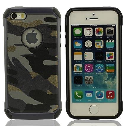Desconocido iPhone 5 & 5S Funda Carcasa Color de Camuflaje ...