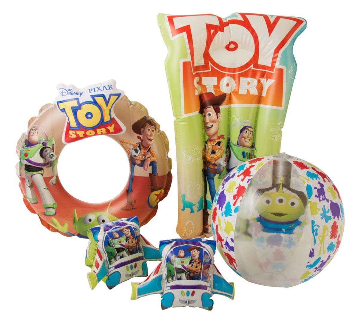 Pixar Toy Story 3D Deluxe Swim Set Floats For Children: Amazon.es ...