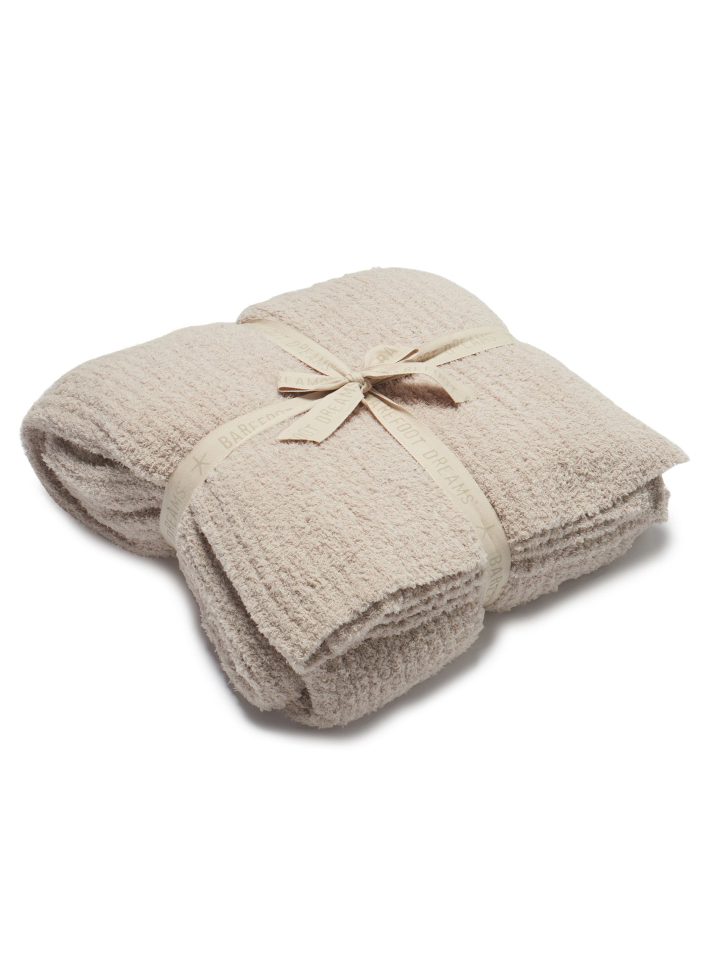 Barefoot Dreams CozyChic Ribbed Bed Blanket King Stone by Barefoot Dreams
