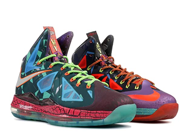 buy online b601f a857b Amazon.com   Lebron 10 Premium  What The MVP  - 618217-300   Basketball