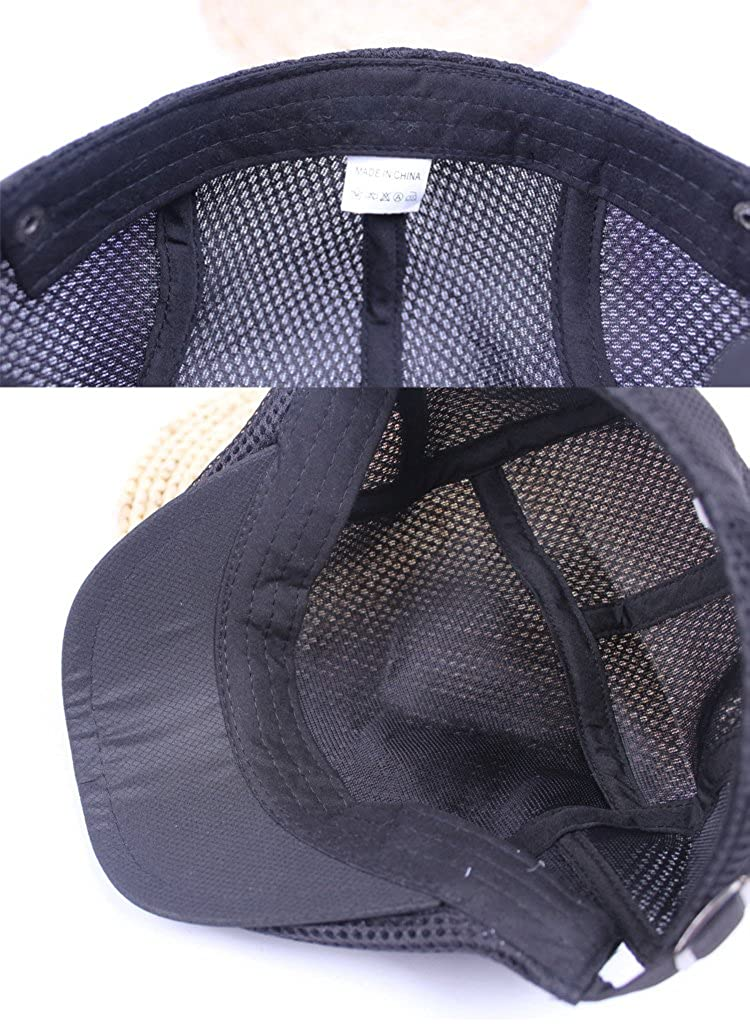 Roffatide Unisex Breathable Mesh Newsboy Cap Summer Duckbill Beret Ivy Cabbie Flat Cap