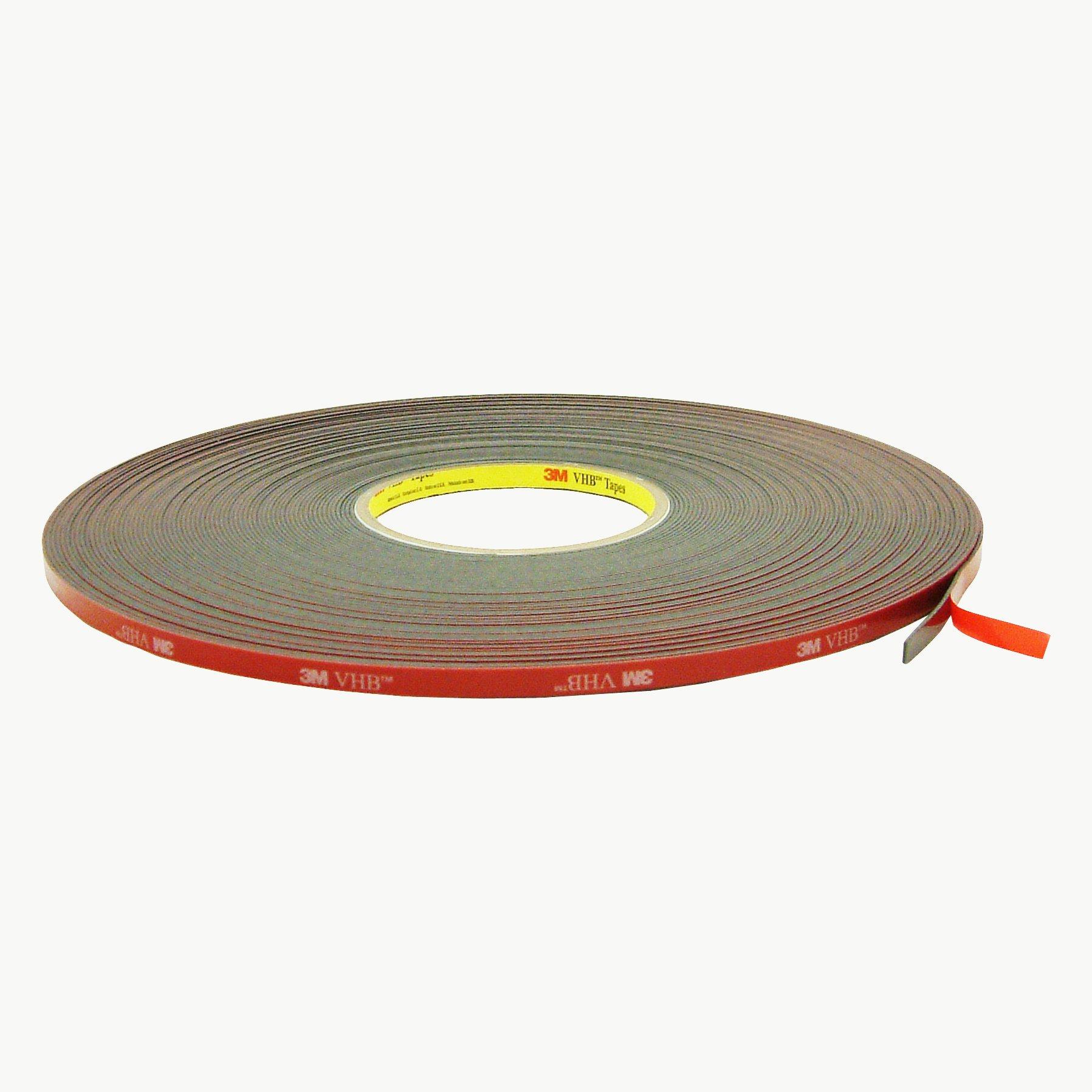 3M 5952/BLK02515 Scotch 5952 VHB Tape: 1/4'' x 36 yd., black