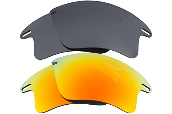 16417311615 Image Unavailable. Image not available for. Color  Fast Jacket XL  Replacement Lenses Silver   Yellow by SEEK fits OAKLEY Sunglasses