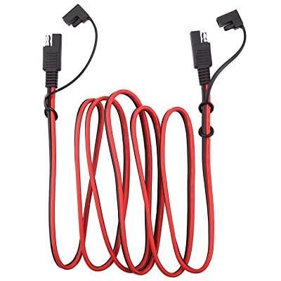 iGreely SAE Power Automotive Extension Cable SAE to SAE Extension Cable Quick Disconnect Wire Harness SAE Connector 14AWG 2M/6.5FT: Garden & Outdoor