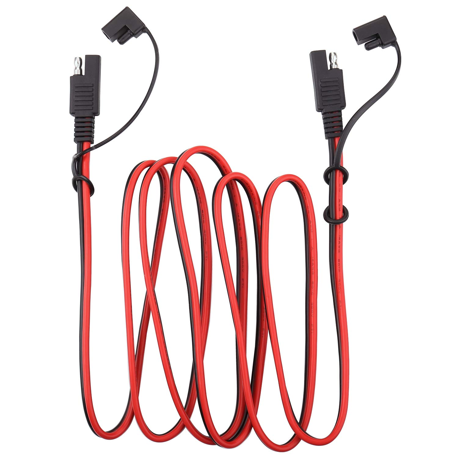 iGreely SAE Power Automotive Extension Cable SAE to SAE Extension Cable Quick Disconnect Wire Harness SAE Connector 14AWG 4M/13FT by iGreely