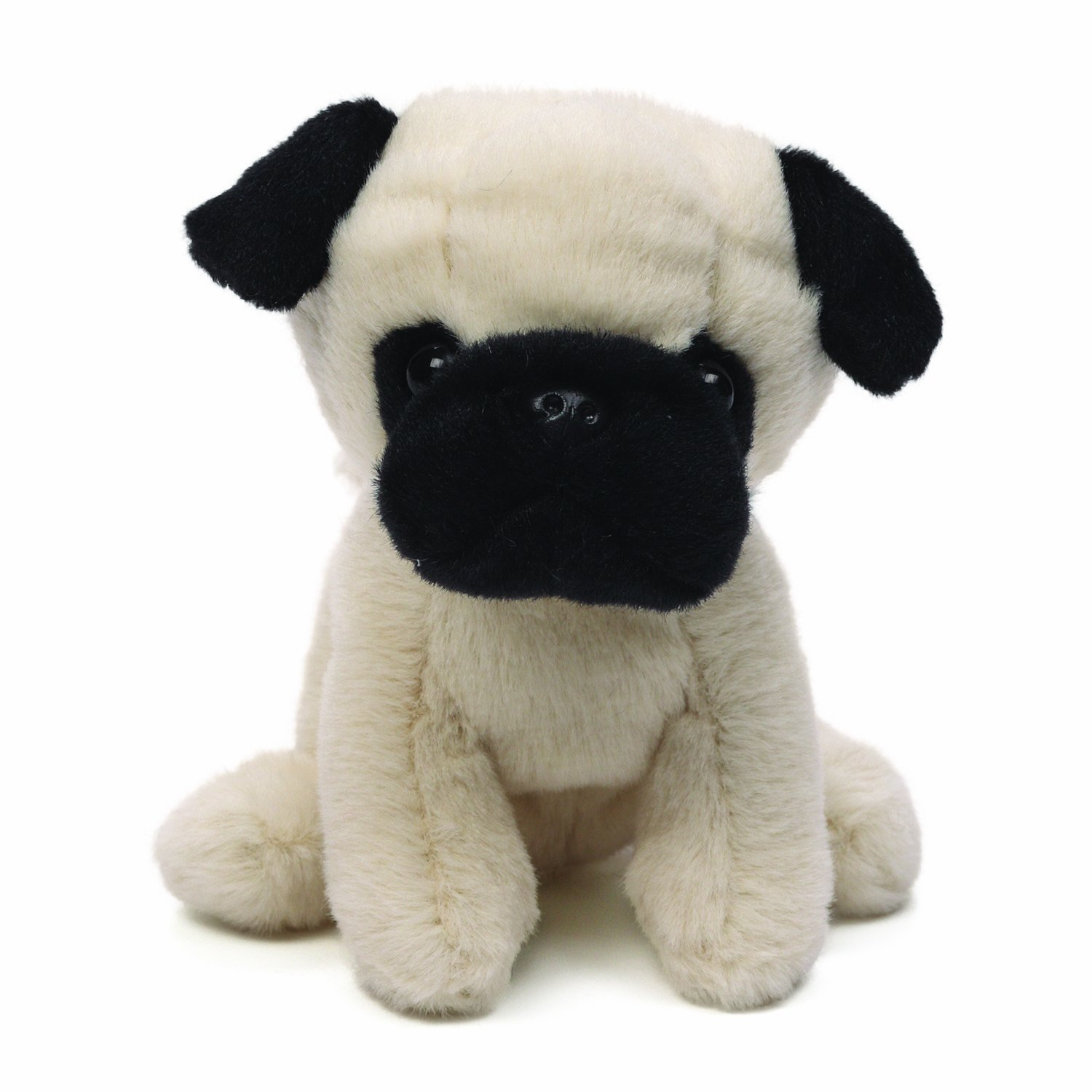 amazon com gund shmossy pug dog stuffed animal toys u0026 games
