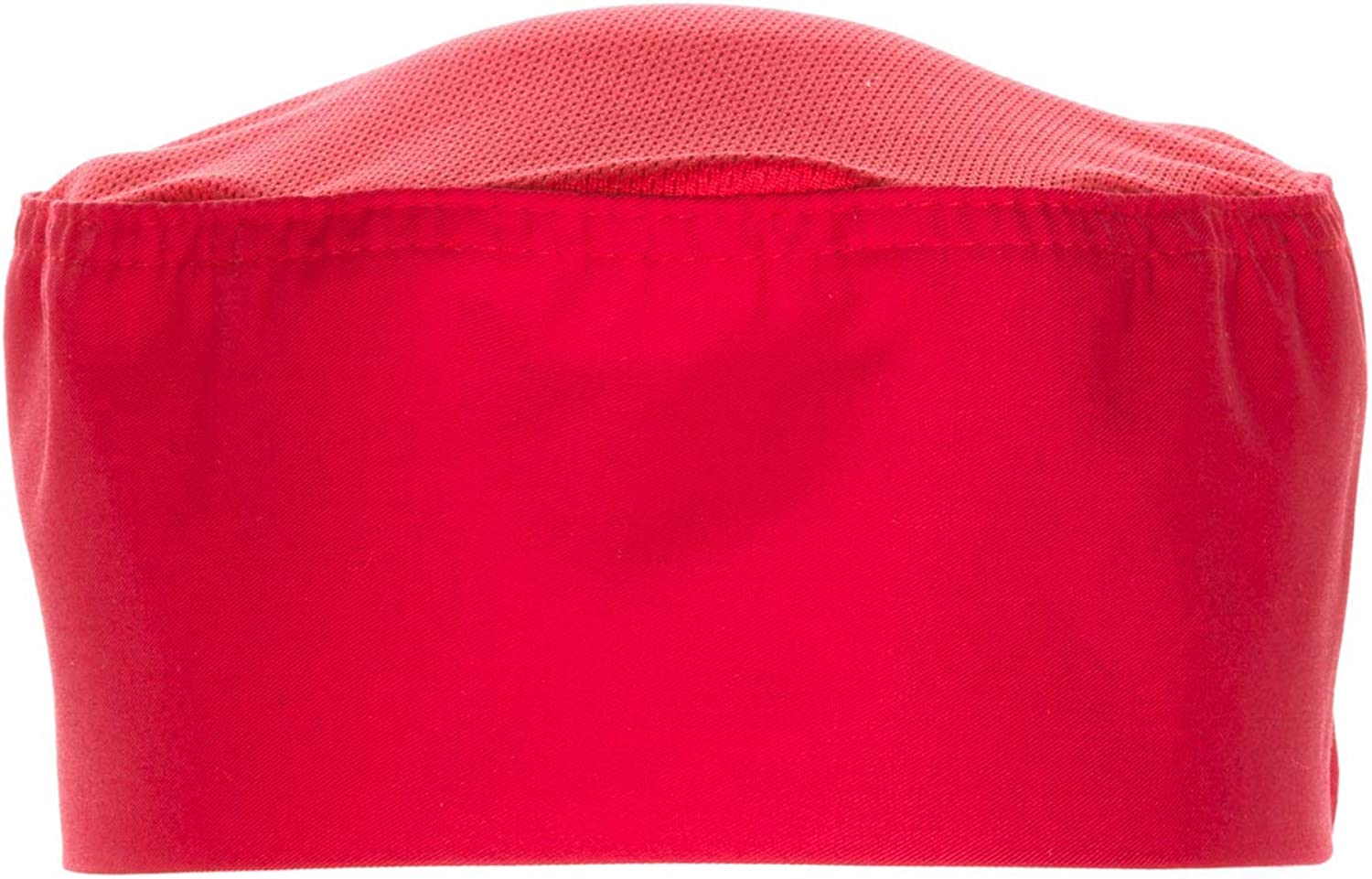 Chef Works Color Cool Vent Beanie, Red, OS: Chefs Hats: Clothing