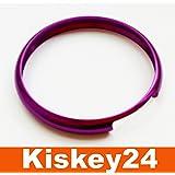 MINI Schlüsselring, Purplelila Farb Ring für Mini ONE, Cooper, Cooper S, Countryman, Paceman, JCW