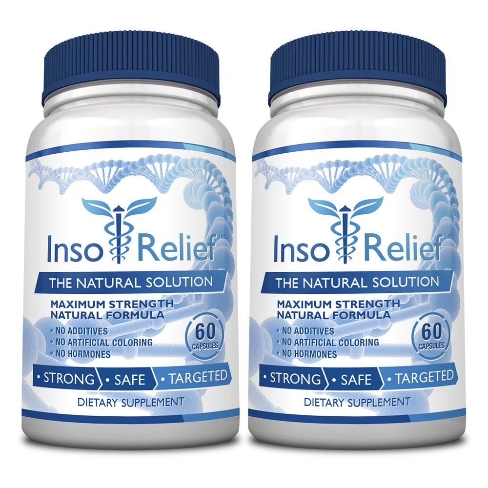 InsoRelief - The #1 Choice for Combating Insomnia - 100% Natural and Non-Habit Forming - With Valerian, Hops, Melatonin, L-ornithine - Improves Sleep Quality - 100% Money Back - 6 Bottles Supply by InsoRelief (Image #4)