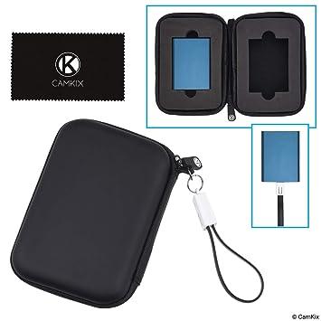 Carcasa Portátil Camkix - Compatible con 2x Discos Externos (SSD ...