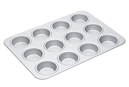 Cuisine, Arts De La Table Masterclass Silver Anodised 42cm Muffin Pan High Quality And Inexpensive Maison