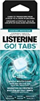 Listerine GO! Tabs Chewable Clean Mint Tablets, Fights Bad Breath On The Go, Leaves Whole Mouth Feeling Clean For 4...