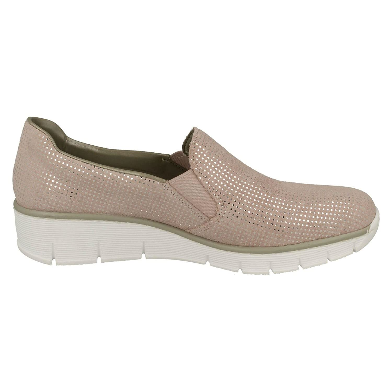 Rieker Melgar Womens Casual Shoes B078Y6NJ9X 41 M EU 32 Rose