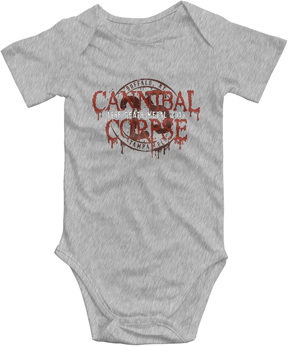 Chouven Newborn Baby Cannibal Corpse Long-Sleeve Bodysuit Clothes Toddler Girls Boys Playsuits
