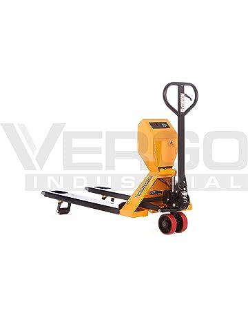 Vergo EP4400LE Industrial Scale Pallet Jack Truck, 4400 lb Capacity, 27