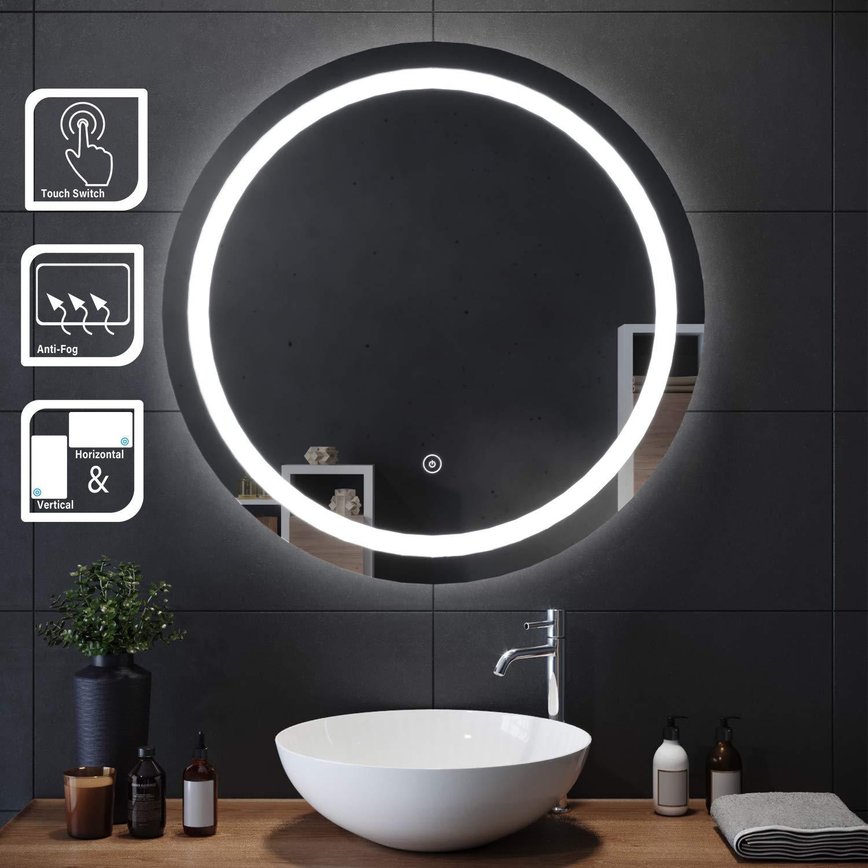 Miroir à Led salle de bain pas cher - Luminaire Led - Eclairage