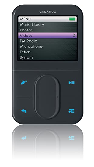 Updating the firmware on a creative mp3 player