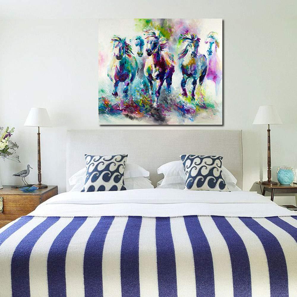Gx Sin Arte De Pintura Colorida La Marco Abstracto Animal EIHeWD29Y