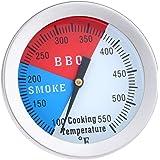 1個 304ステンレス クッキング温度計 オーブン温度計 ハウジング ステム 大画面 ロースト バーベキュー グリル オーブン 温度管理 550℉ 調理ツール