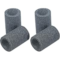 kwmobile 4x slijpsteen voor dartpijlen - Dartpijltjes slijper van zandsteen - Dart sharpener in grijs - Dartpijlslijper