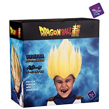 My Other Me Me Me- Saiyan Vegeta Dragon Ball PELUCA Multicolor (230122