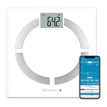 Medisana Analysewaage BS 444 connect Wagebereich (max.)=180 kg white by Medisana