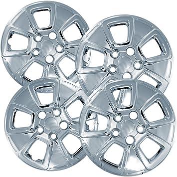 Tapacubos para Kia Soul (Pack de 4) fundas para ruedas - 15 inch, fijación a presión, cromado: Amazon.es: Coche y moto